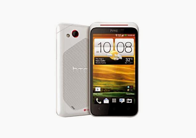 smartphone android terbaik HTC Desire XC putih