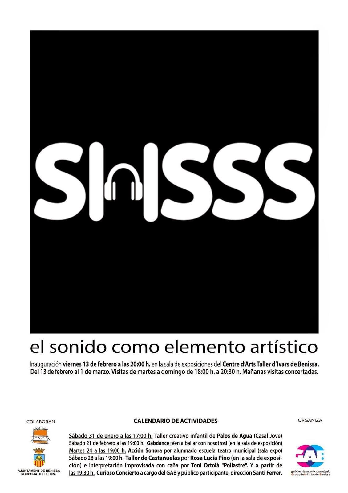 SHSSS El sonido como elemento artístico