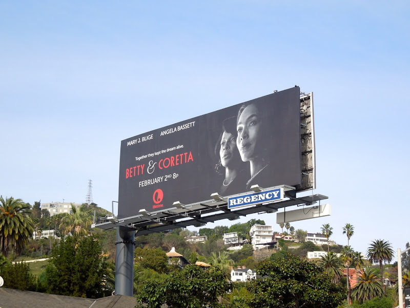 Betty Coretta Lifetime billboard