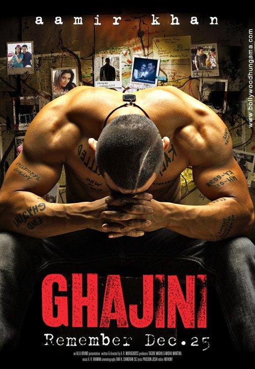 Ghajini affiche
