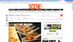 The Scene, Wall St Journal makes a mini film on Once Upon A Table secret supper club