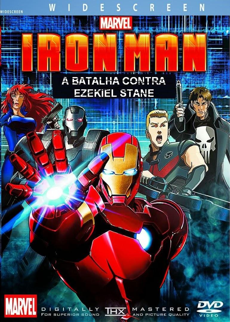 Homem de Ferro: A Batalha Contra Ezekiel Stane – Dublado (2013)