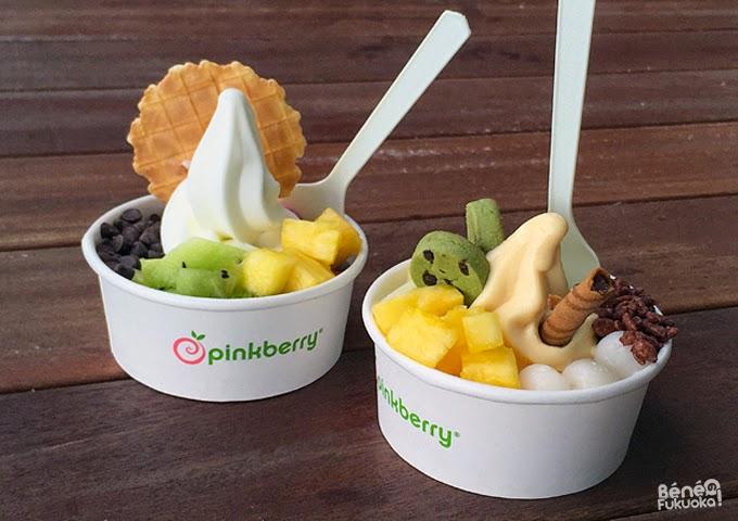 Pinkberry Fukuoka, frozen yogurt