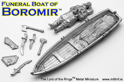 Mithril Miniatures new release: Funeral Boat of Boromir