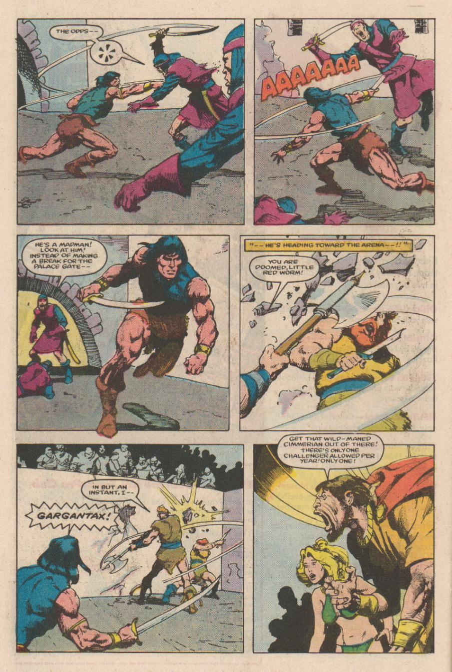 Conan the Barbarian (1970) Issue #166 #178 - English 19