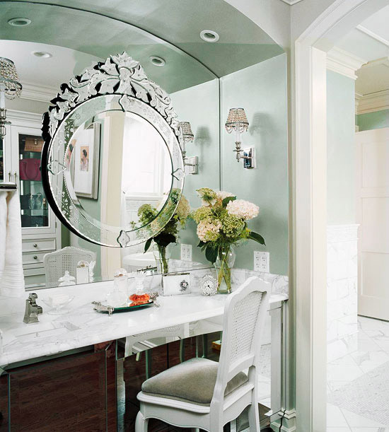 Bathroom makeup vanity ideas home appliance for Bathroom designs with dressing area