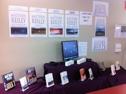 Matthew Reilly Display