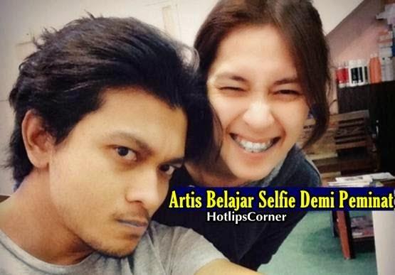 Artis Belajar Selfie Demi Peminat, syukri yahya, pelakon, hiburan, info, terkini