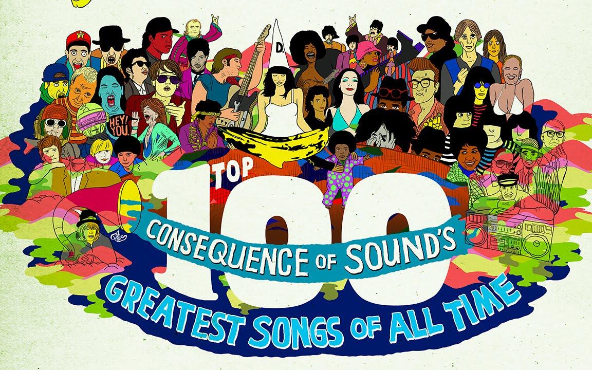 100 mejores canciones en la historia:
