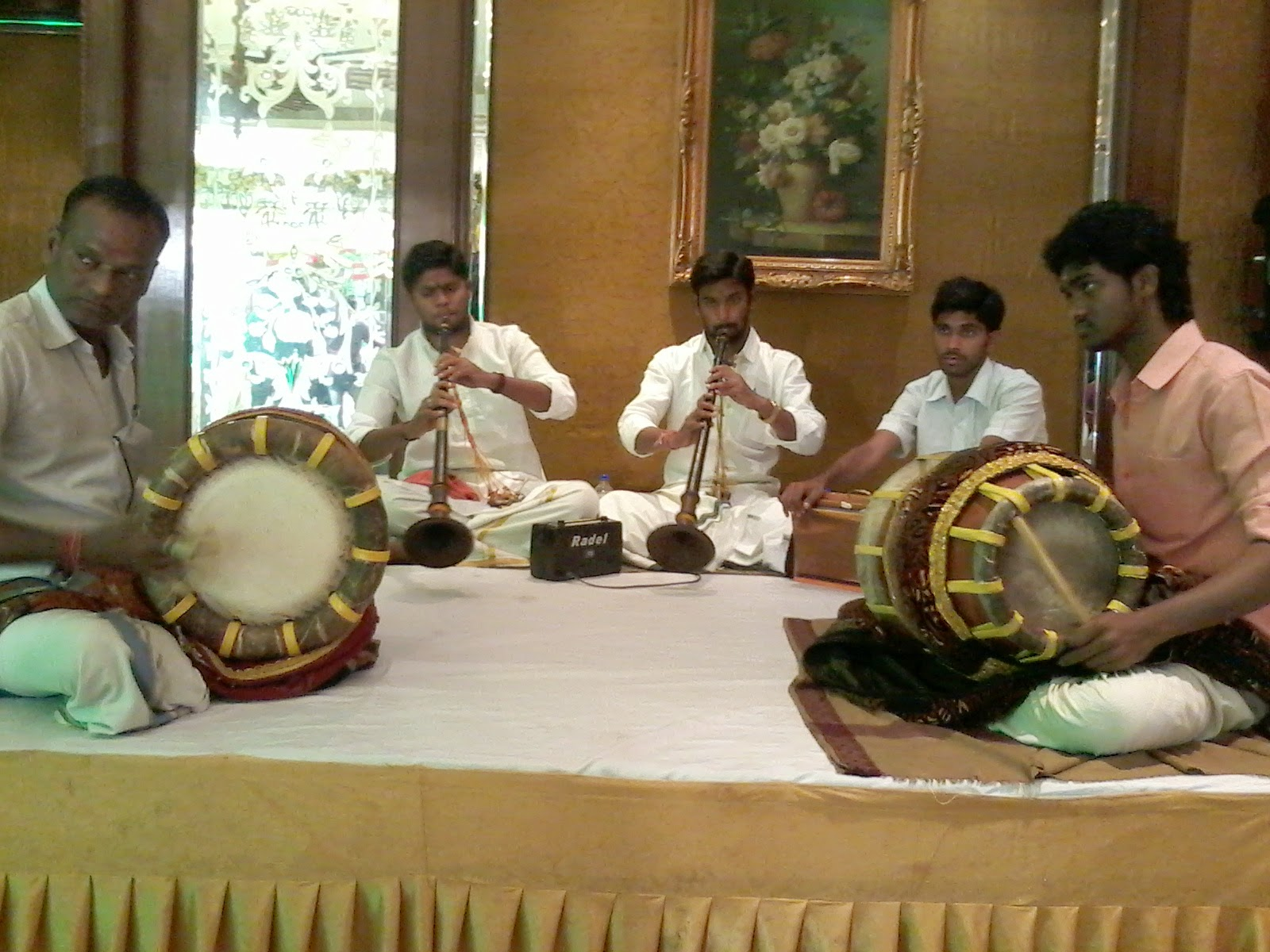 Performance at Hotel Taj Krishna