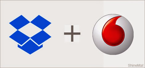 vodafone and dropbox 25gb offer