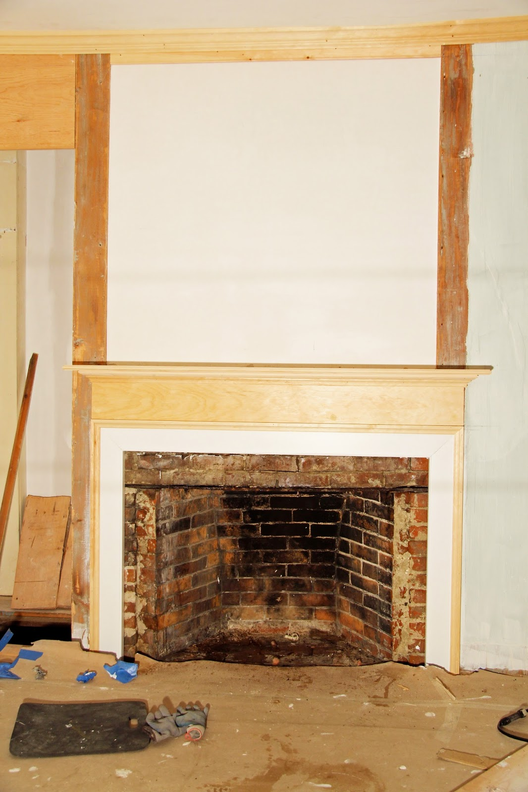 in the fields a bedroom fireplace restored