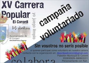 Campaña de voluntariado