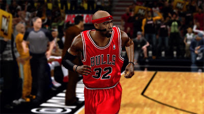 NBA 2K13 Richard Hamilton Face Transparent Facemask Mod