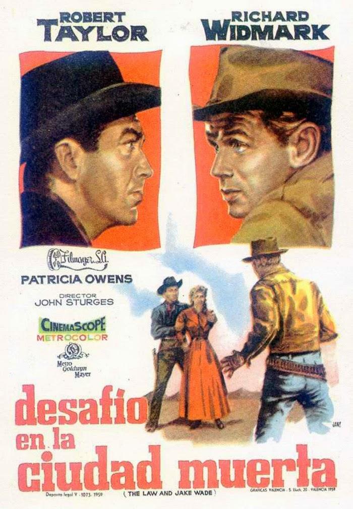 Desafío en la ciudad muerta 1958 | Caratula - CINE CLASICO