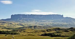 Mount Roraima, Venezuela, Brazil and Guyan.