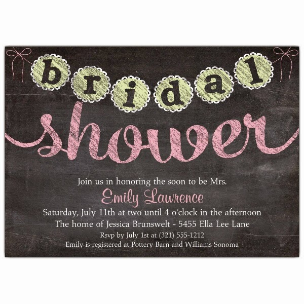 Attention: Bridal Shower Invitations -4