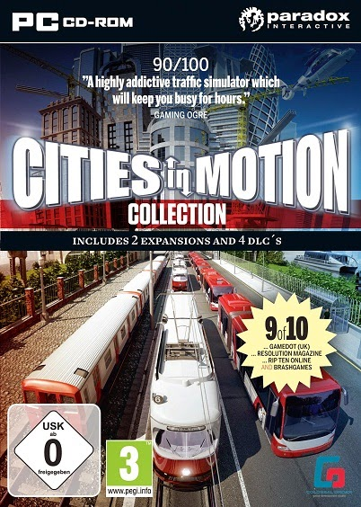 capa Cities in Motion Collection – PC (2014)