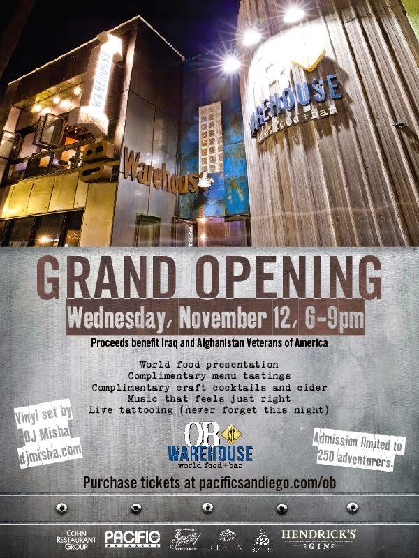 OB Warehouse Grand Opening