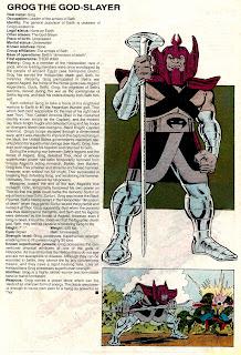Grog Aplastadioses (ficha marvel comics)