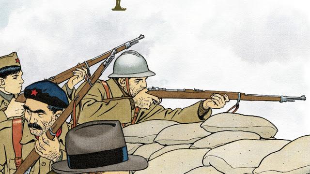 Sélection des BD sur la Guerre Civile Espagnole 01-02