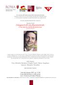 Giovedì 4 giugno 2015  ore 17,30 Casa della memoria e della storia via S. Francesco di Sales, 5 RM