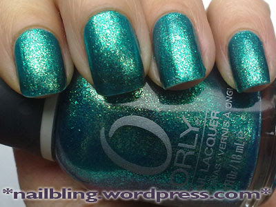 Orly Halleys Comet Swatch