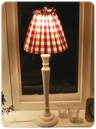sydd lampskärm advent lampa