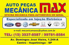 AUTO PEÇAS E MECÂNICA MAX