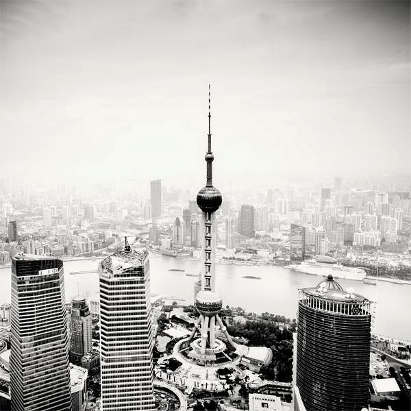 Black and White Cityscapes by Marcin Stawiarz