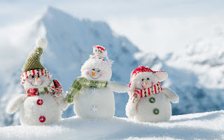 Snow Mans HD Wallpaper