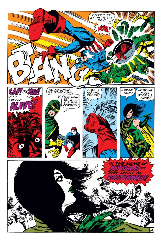 Captain America (1968) Issue #113 #27 - English 15