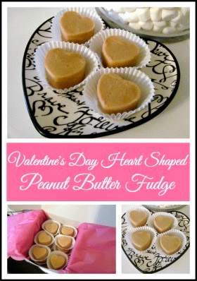 Heart Shaped Fudge