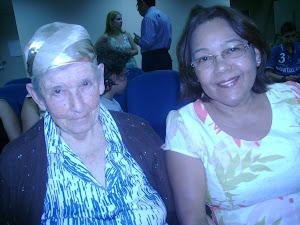 Iracilde e D. Leonidia - aniversario 02 anos da SAF IPBVP
