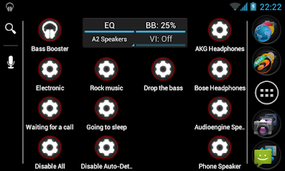 Bass Booster Pro v2.4.1 Apk Setting