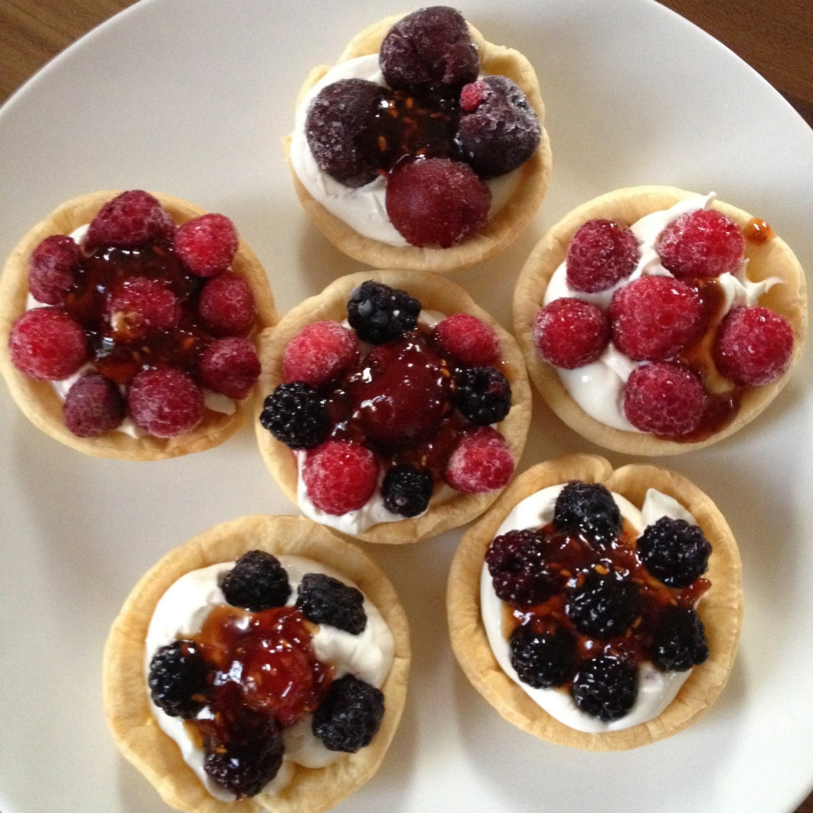 From soph to you tartelettes aux fruits rouges version for Coulis fruits rouges surgeles