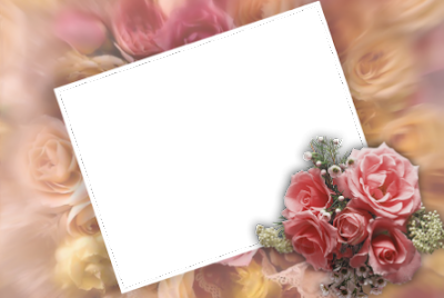 Flower Photos Frame