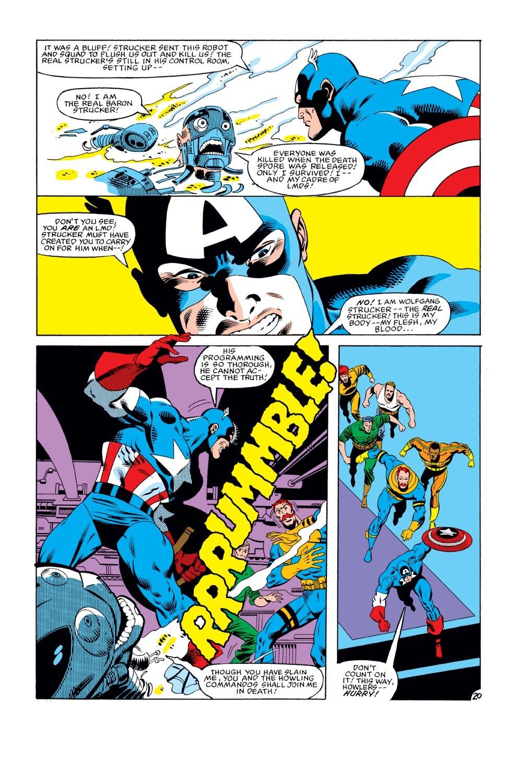 Captain America (1968) Issue #274 #190 - English 21