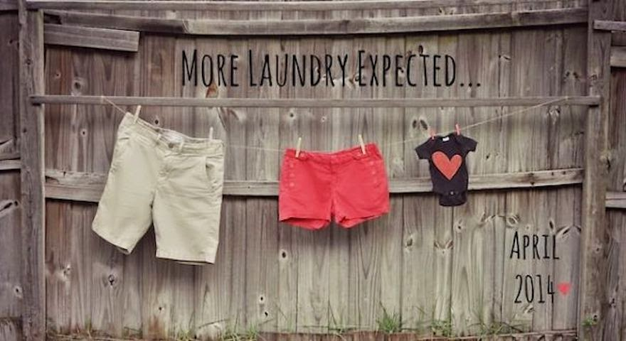 30 Of The Most Creative Baby Announcements Ever - New Baby, More Laundry
