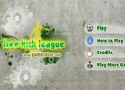 juegos de futbol free kick league