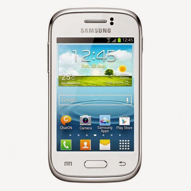 Harga Dan Spesifikasi Samsung Galaxy Young S6310 Terbaru, Berteknologi Android Terbaru