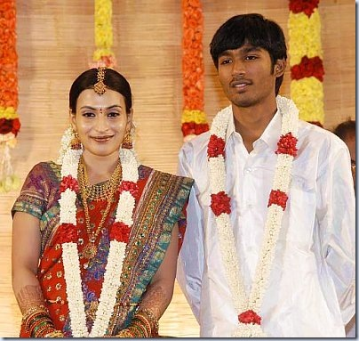 Dhanush and Aishwarya's Marriage