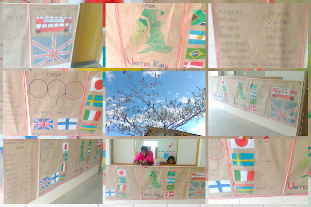 English Project - Olympics Games London 2012