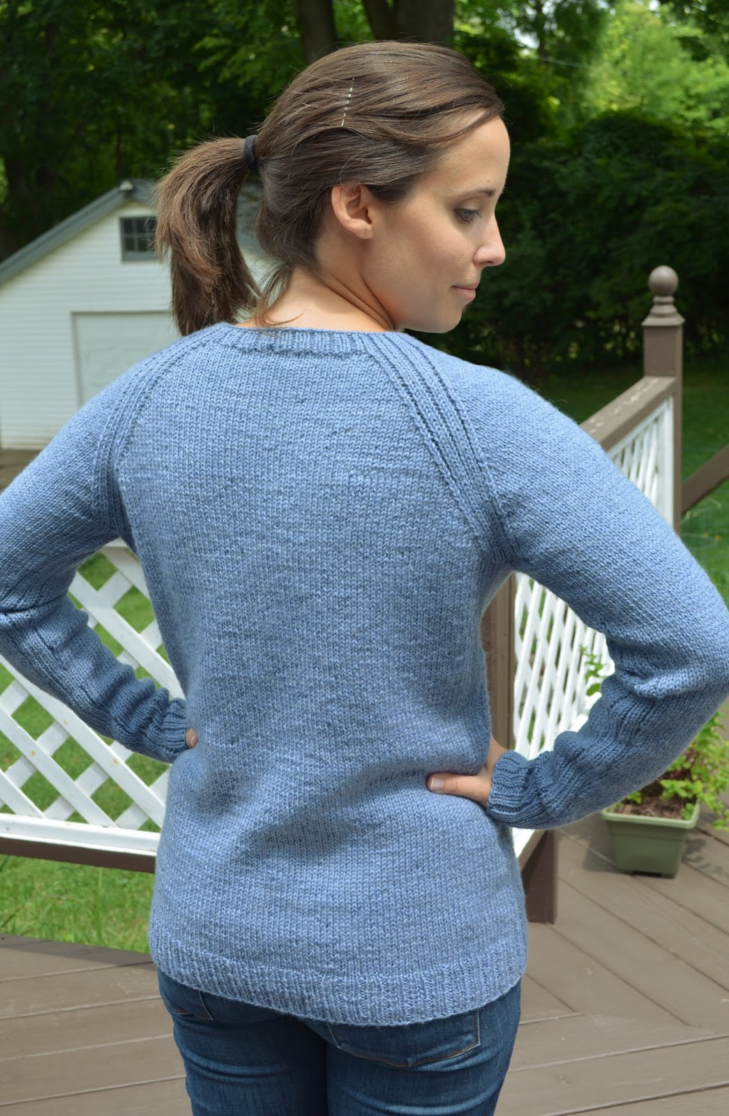 cozy birdhouse | purl bee sweatshirt sweater