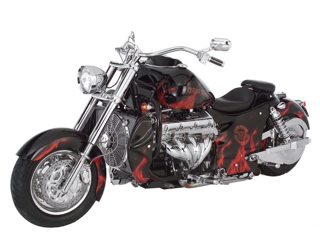Boss Hog Frames : Moto custom boss hoss v da cc