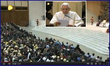 Enlace al discurso del Papa.