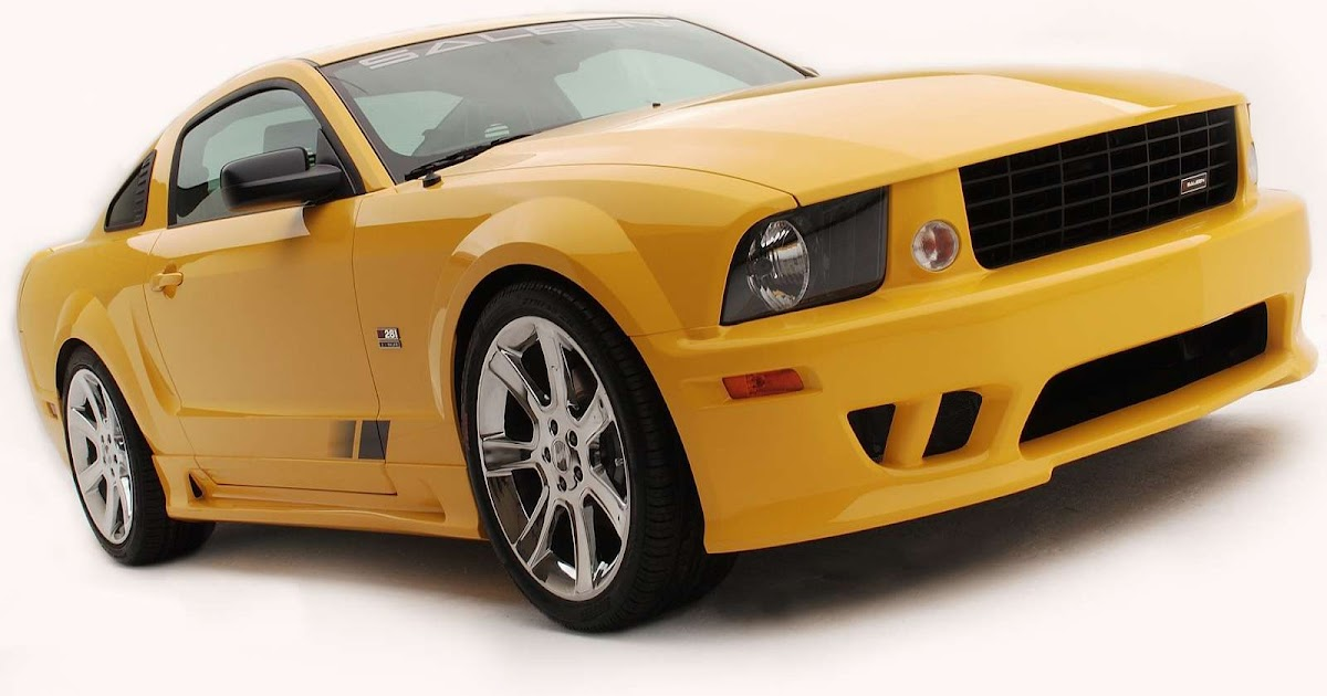 Car Picture Saleen Ford Mustang S281 3 Valve 2005