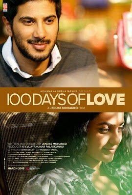 Watch 100 Days of Love (2015) DVDScr Malayalam Full Movie Watch Online Free Download