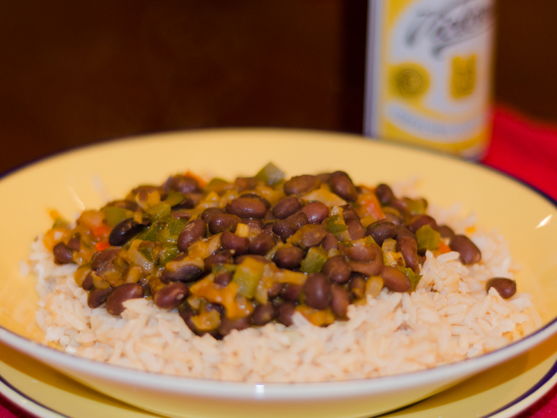 Achiote Rice And Beans Beans And Rice is a Classic