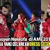 Neelofa bengang dress merah dipakai ketika AME2015 digelar Sotong